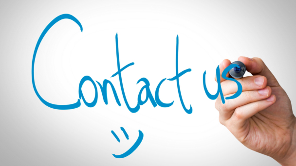 writing contact us text